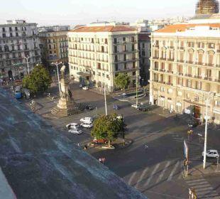 Piazza Garibaldi vorm Hotel