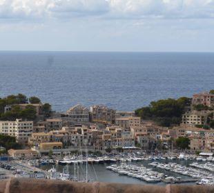 Teil vom Hafen und Meer SENTIDO Porto Soller