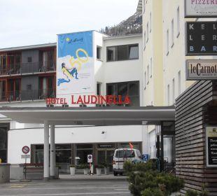 Aussenansicht Hotel Laudinella