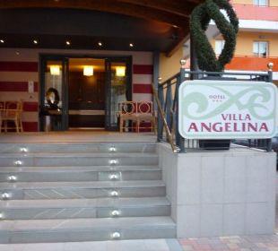 Eingang vom Hotel Hotel Villa Angelina