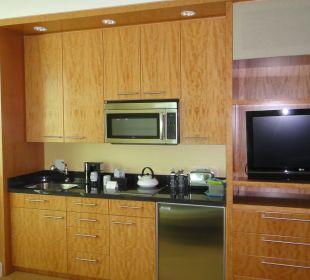 Kleine Küchenzeile Hotel Trump International