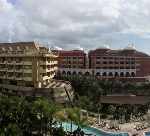 Panoramablick mit bewegter Kamera Hotel Royal Dragon