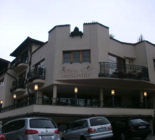 Hotel von außen Hotel Taubers Unterwirt