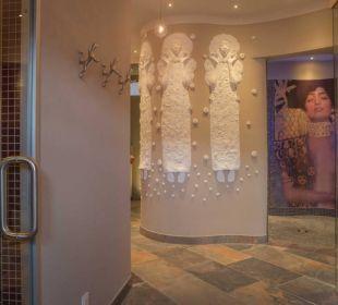 Penthouse-Saunalandschaft Romantik Jugendstilhotel Bellevue