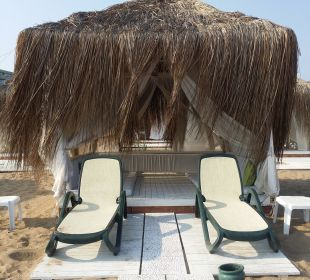 Strandpavillon zur Miete 10 € pP Side Sun Bella Resort & Spa