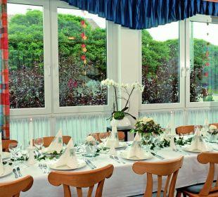 Unser Frühstücks- und Festraum Gasthof Zum Hasen