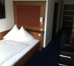 Angenehmes, breites Bett Hotel Neuer am See