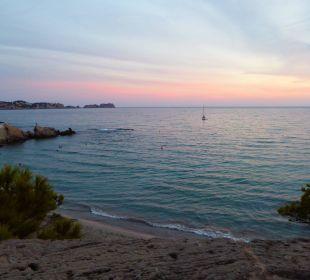 Ausblick auf die kleine Bucht Universal Hotel Lido Park