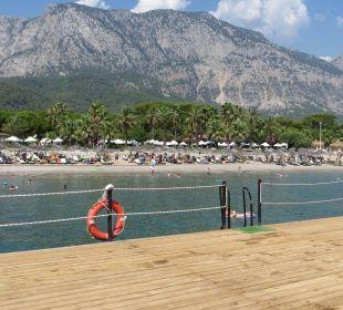 Der gesamte Strandabschnitt Hotel Champion Holiday Village