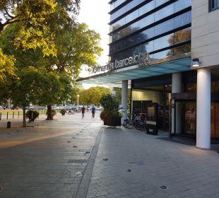 Außenansicht Hotel H10 Marina Barcelona