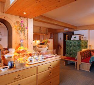 Frühstücks und Aufenthaltsraum Pension Tannenhof