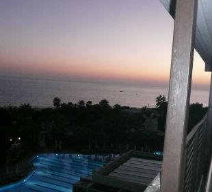 Abendstimmung Hotel Alba Royal