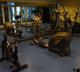Der Fitnessraum Hotel Valentin Sancti Petri