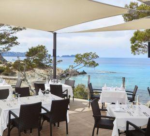 Restaurant terrace Universal Hotel Lido Park