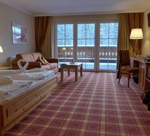 Junior-Suite mit Blick auf den Rauschberg Wohlfühlhotel Ortnerhof