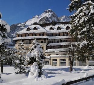 Winterbild Belle Epoque Hotel Victoria