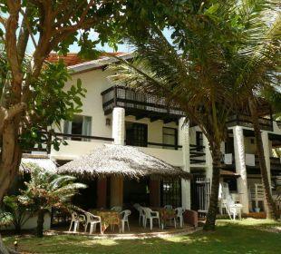 Gartenanlage Teilansicht Speiseraum Hotel Porto da Lua