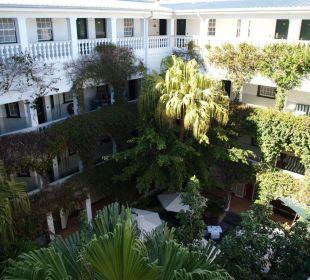 Innenhof des Hotels Hotel Winchester Mansions
