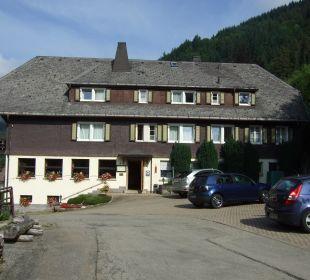 Seitenansicht Hotel Waldeck