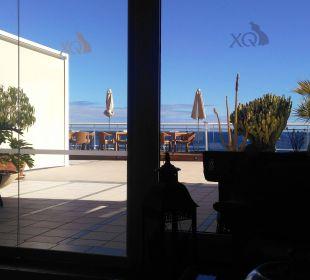 Hinterer Ausgang/Zugang zum Pool Hotel XQ El Palacete