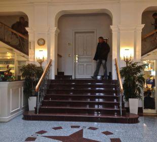 Strandhotel Entrée Strandhotel Kurhaus Juist