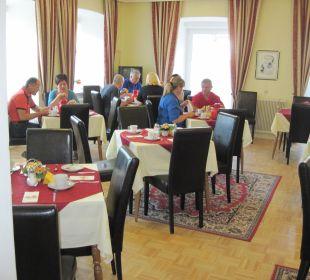 Der Frühstücksraum Hotel Kirchenwirt