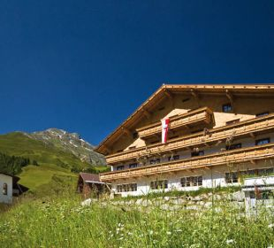 Sommerzeit Alpengasthof Pension Praxmar