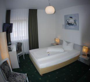 Einzelzimmer Komfort mit 1 1/2 Schläfer AKZENT Berghotel Rosstrappe