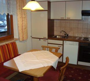 Küche im Appartement Typ 4 Apartment Brandau