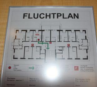 Lageplan Hotel Vitznauerhof