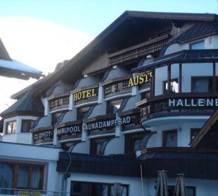 Ausenansicht Hotel Austria Hotel Bellevue & Austria