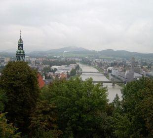 Schloss Mönchstein, Blick aus dem Zimmer Hotel Schloss Mönchstein