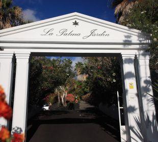 La Palma Jardín Eingang Hotel La Palma Jardin