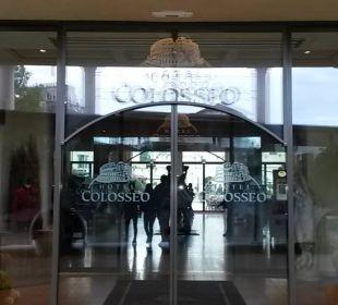 Eingang zum Hotel Hotel Colosseo Europa-Park
