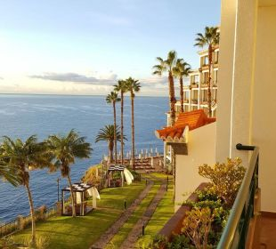 Blick vom Balkon Hotel The Cliff Bay (PortoBay)