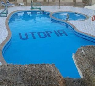Pool direkt am strand Hotel Utopia Beach Club