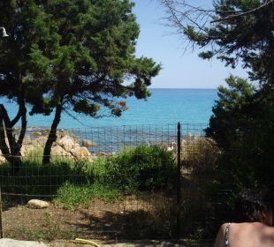 Ausblick vom Grillplatz im Garten Sardafit Ferienhaus Budoni