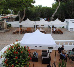 Innenhof Hotel Poseidon Bahia