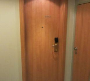 Zimmertür Hotel Neptun