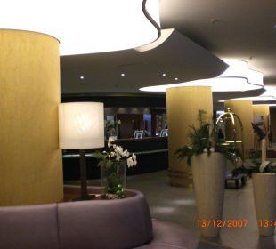 Hoteleingang sehr freundlicher Empfanf Hotel Neptun