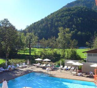 Blick vom Balkon Hotel Travel Charme Fürstenhaus Am Achensee