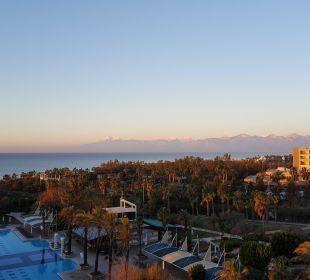 Blick vom Zimmer aus  Hotel Concorde De Luxe Resort