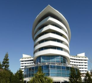 Imposante Aussenansicht Hotel Concorde De Luxe Resort