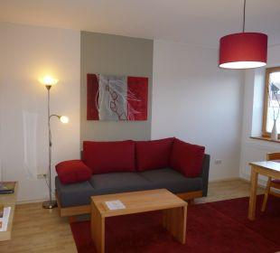 Ferienwohnung Weide Wohnraum Gästezimmer Fewos Familie Neubert