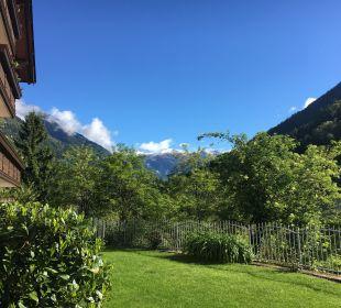Gartenanlage Hotel Alpenhof Passeiertal