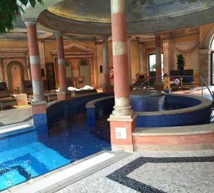 Einstiegsbereich für den Pool Hotel Colosseo Europa-Park