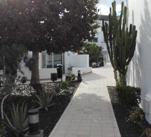 Wege zu den Zimmern  Hotel Las Costas