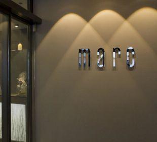Eingang Hotel marc münchen