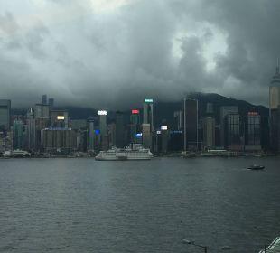 Blick auf Hongkong InterContinental Hotel Grand Stanford Hong Kong