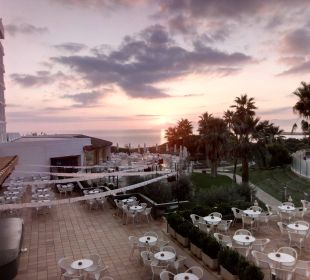 Sonnenaufgang - Blick von Zimmer 3138 Hotel Playa Esperanza